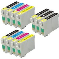Compatible Multipack Epson MUFC Limited Edition Printer Ink Cartridges (11 Pack) -CB5-T1811-814_12568 from Printerinks