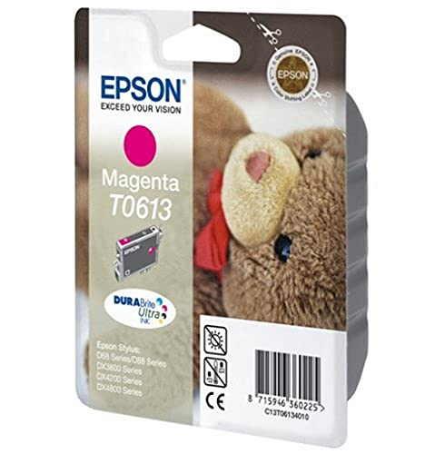 Epson Original T061340 Magenta Ink Cartridge for Stylus D68/D88/DX3800/DX4200/DX4800 (Teddy) from Epson