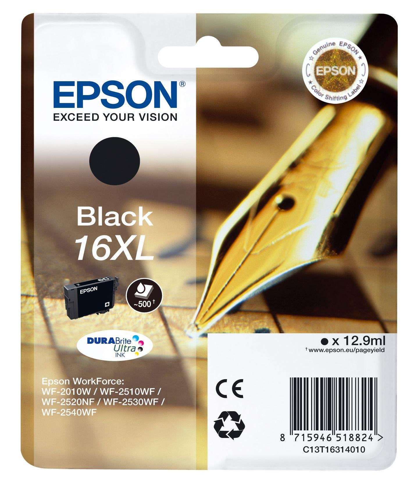 Epson Pen 16XL Black Ink Cartridge from Epson