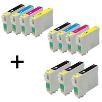 Compatible Multipack Epson Stylus D4200 Printer Ink Cartridges (11 Pack) -CB5-T611/4_12929 from Printerinks