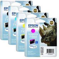 Original Multipack Epson Stylus Office B40W Printer Ink Cartridges (4 Pack) -1set-T1001-04_OEM_8730 from Epson
