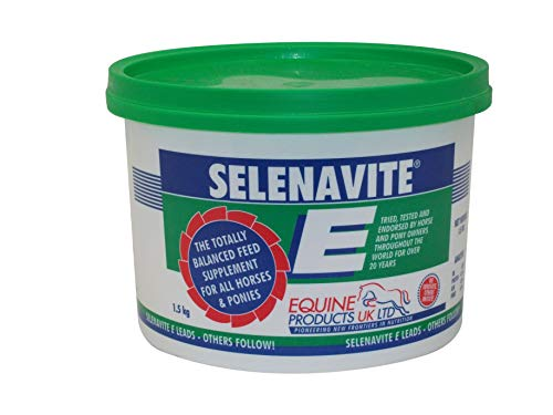 Equine Products Unisex's Selenavite E, Clear, 500 g from Equine Products