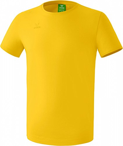 Erima Men's Casual Basics Style T-shirt - Yellow, Large from Erima