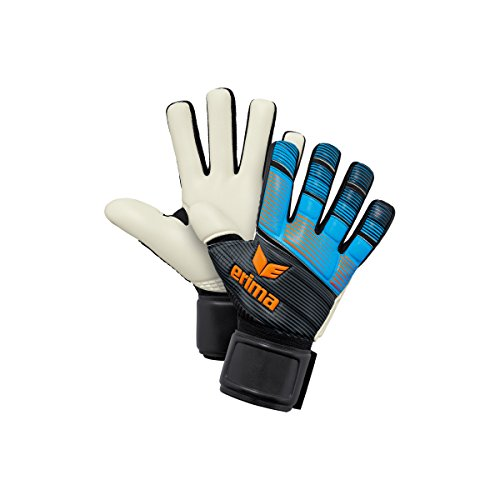 Erima Unisex Goalkeeper Training Nf Skinator, Curacao/Fluo Orange/Black, Size 8 from Erima