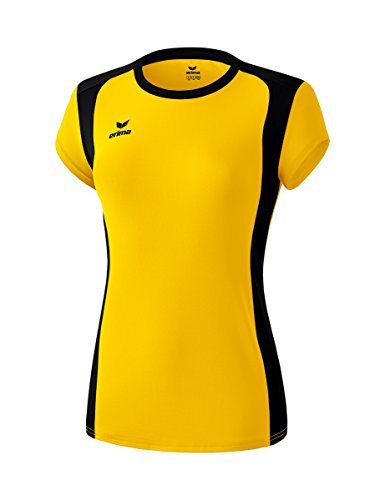 Erima Women's Rubi Tanktop Jersey, Yellow/Black, Size 36 from Erima