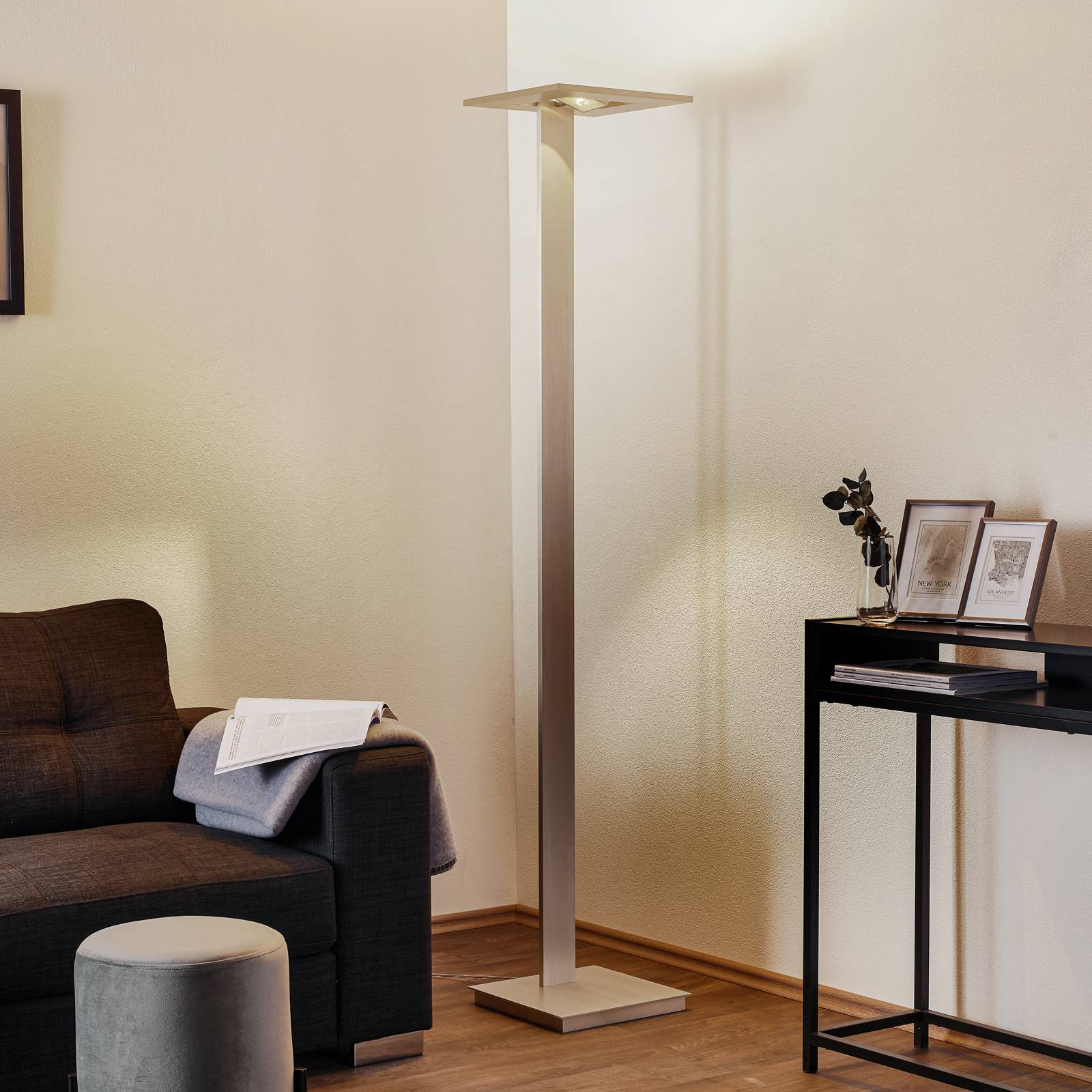 Zen - LED uplighter with touch dimmer from Escale