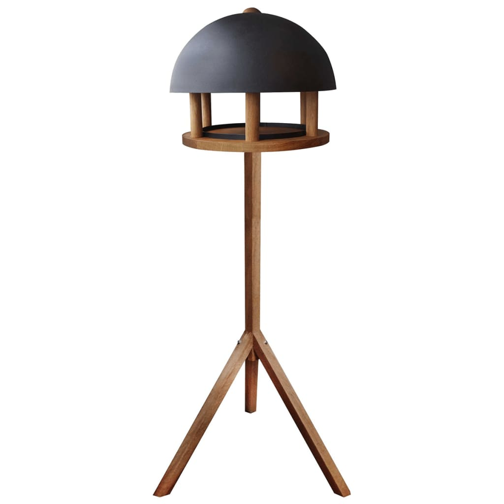 Esschert Design Bird Table Round Steel Roof FB429 from Esschert Design
