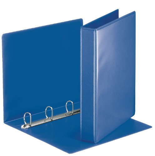 Esselte Essentials Presentation Binder, PVC, 3 cm Ring Diameter, 49715 - A4, Blue from Esselte