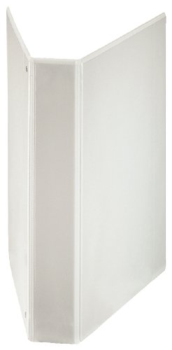 Esselte 4 Ring Binder, PP, Holds up to 190 Sheets, 42 mm Spine, 55295 - A4, White from Esselte
