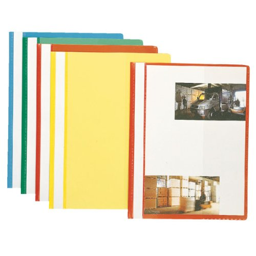 Esselte A4 Assorted Plastic Report Files - Pack of 10 from Esselte