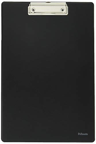 Esselte A4 Clipboard, Rigid Plastic, Black from Esselte