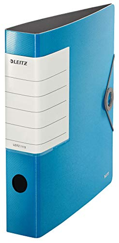 Leitz 11130030 Multi-Purpose Folder Solid A4 2 Holes Light Blue from Leitz