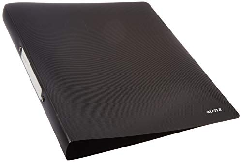 Leitz Solid Ring Binder A4 Polypropylene Black from Leitz