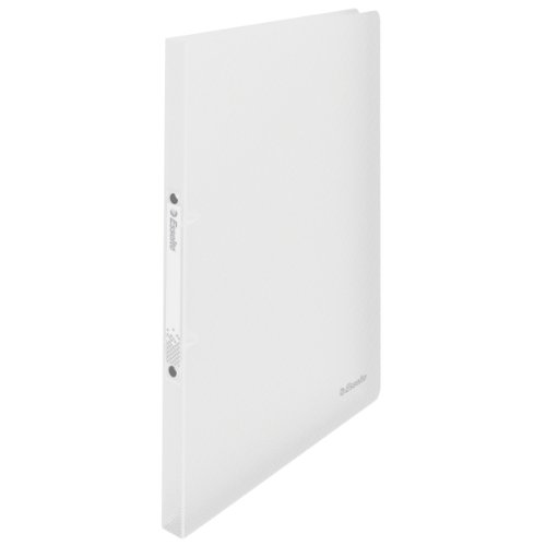 Esselte 2 Ring Binder, Holds up to 100 Sheets, Vivida Range, 16 mm Spine, 624034 - A4, White from Esselte