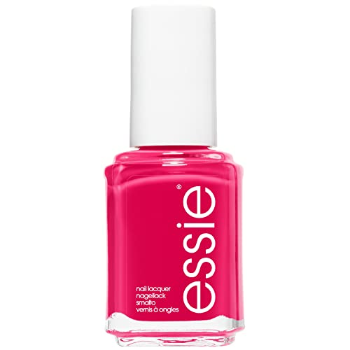 essie Original Shine & Gloss Nail Varnish, Streak Free Application, Nail Enamel 27 Watermelon Bright Pink Nail Polish 13.5 ml from essie
