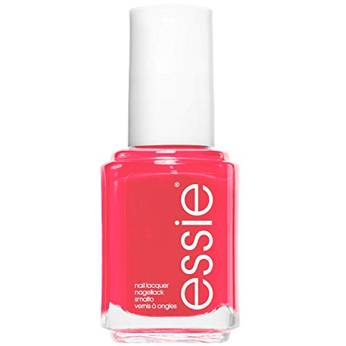 essie Original Shine & Gloss Nail Varnish, Streak Free Application, Nail Enamel 72 Peach Daiquiri Bright Pink Coral Nail Polish 13.5 ml from essie
