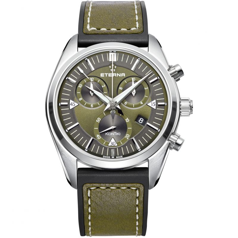 Mens Eterna KonTiki Chronograph Watch from Eterna