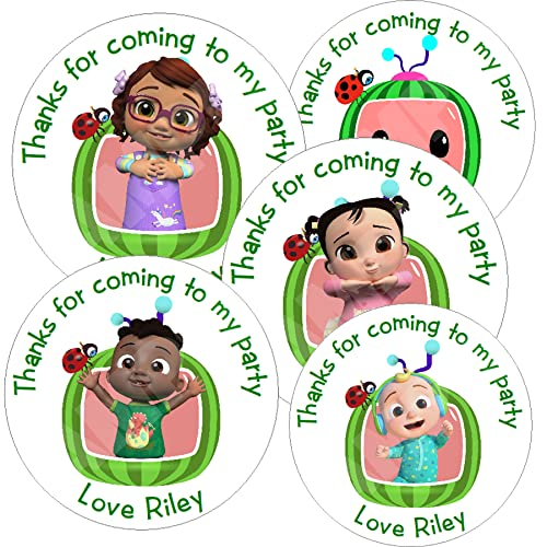 Pack of Hello Kitty Personalised Circle Stickers with Glossy Finish KBCS146 from Eternal Design