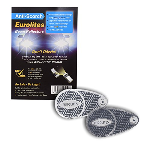 Travel Products Travelspot Eurolites N92160 Headlamp Adaptors for Driving in Europe from Travel Products