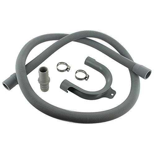 Europart Universal Drain Hose Extension Kit with 18 x 22 mm Fitting, 1.5 m from Europart