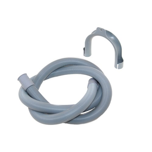 Washing Machine Drain Outlet Hose and Hook Fits Universal with 22/ 30 mm Fitting, 1.5 m from Europart