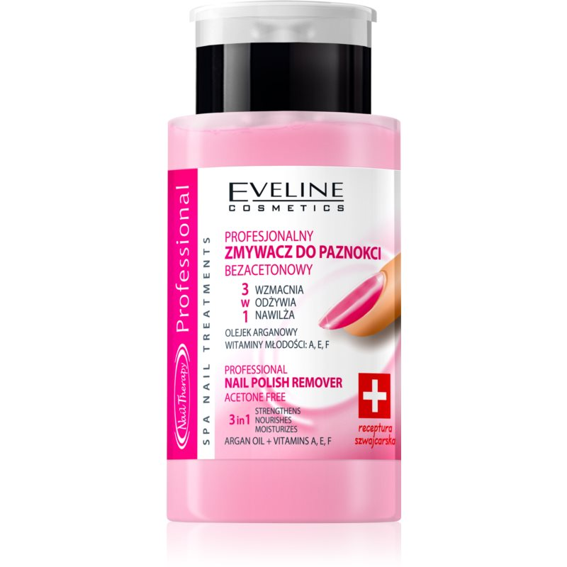 Eveline Cosmetics Professional Nail Polish Remover without Acetone 190 ml from Eveline Cosmetics