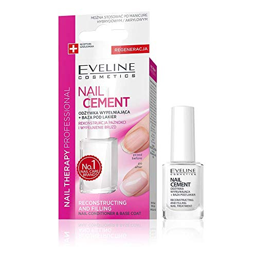 Eveline Nail Therapy Conditioner and Base Coat Reconstructing and Filling 12ml from Eveline