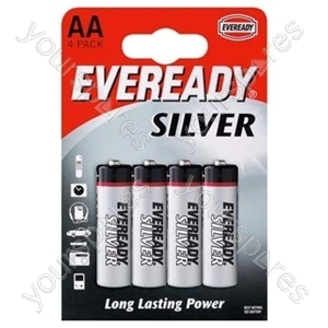 AA B4 Eveready Silver 621065 from Eveready