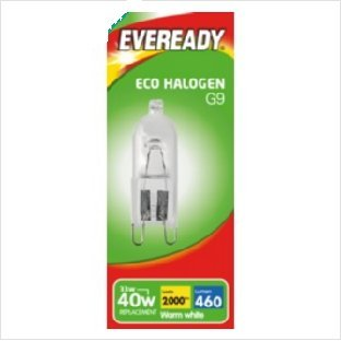 Eveready Eco Halogen G9 220-240v Capsule 33w from Eveready