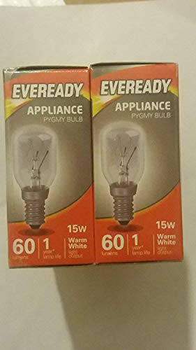 Eveready Small Screw Himalayan Salt lamp Bulb x 3, E14, 15 W from Eveready