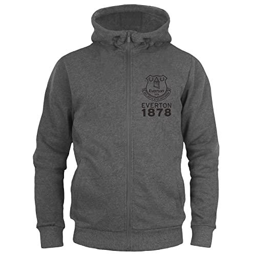 97a97d18 Everton FC Official Football Gift Boys Fleece Zip Hoody Grey 10-11 Years  from Everton. found at Amazon Marketplace