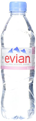 Evian Still Water, 500ml- Pack of 24 from Evian