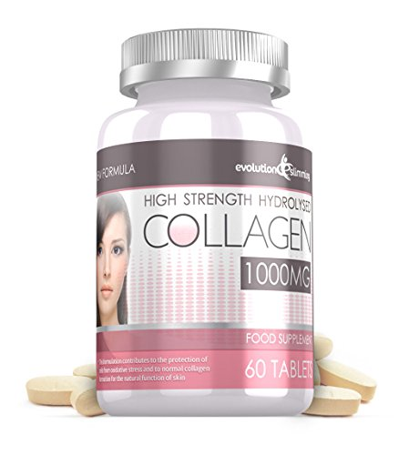 Evolution Slimming 1000mg Hydrolysed Collagen - Pack of 60 Tablets from Evolution Slimming
