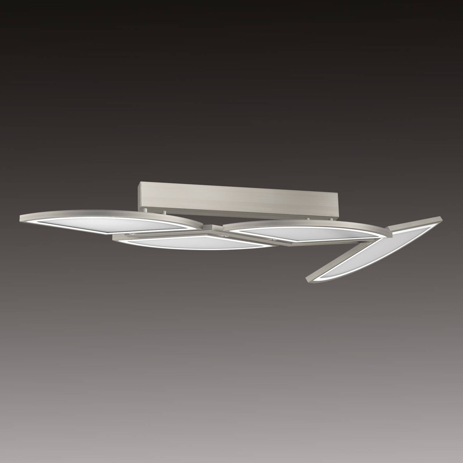 Movil - LED ceiling light with 4 light segments from Evotec