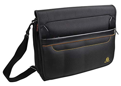 Exacompta Exactive 14 Inch Laptop Messenger Briefcase from Exacompta