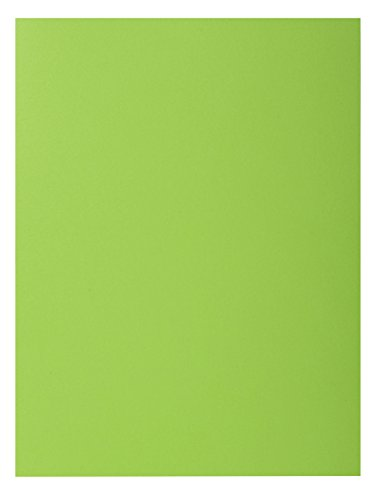 Exacompta Rocks Square Cut Folder, 24 x 32 cm, 210 g - Green, Pack of 100 from Exacompta