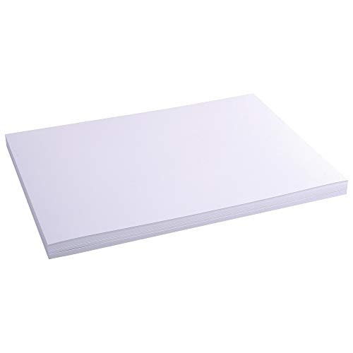 Exacompta Bristol Plain Record Cards, A3 - White, Pack of 100 from Exacompta