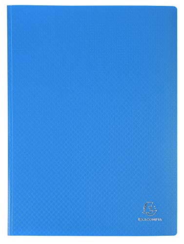 Exacompta Soft PP Display Book, A4, 30 pockets - Blue from Exacompta