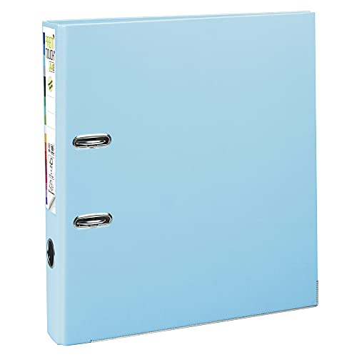 Exacompta Prem'Touch PP Lever Arch File, A4 maxi, 50mm spine - Light Blue from Exacompta
