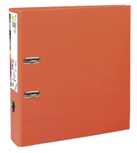 Exacompta Prem'Touch PP Lever Arch File, A4 maxi, 80 mm spine - Orange from Exacompta