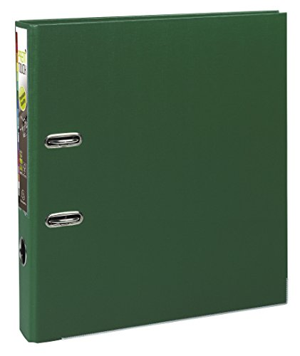 Exacompta Prem'Touch PP Lever Arch File, A4 maxi, 50 mm spine - Dark Green from Exacompta