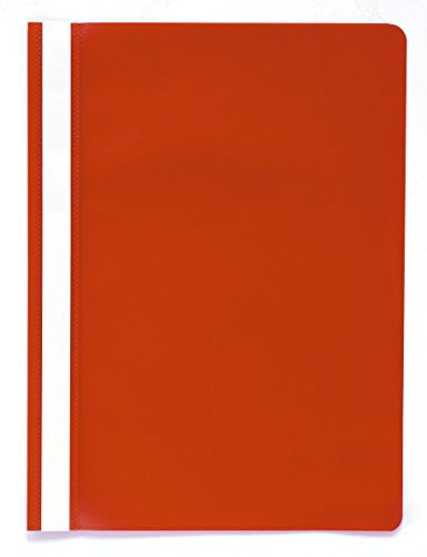 Exacompta PP Transfer File, A4 - Red, Pack of 25 from Exacompta