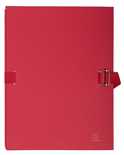 Exacompta Expanding Folder, A4, Expands Up to 13 cm - Red from Exacompta