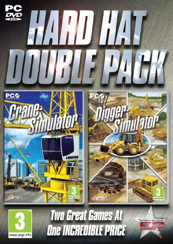 Hard Hat Double Pack - Crane and Digger Simulation (PC DVD) from Excalibur Games