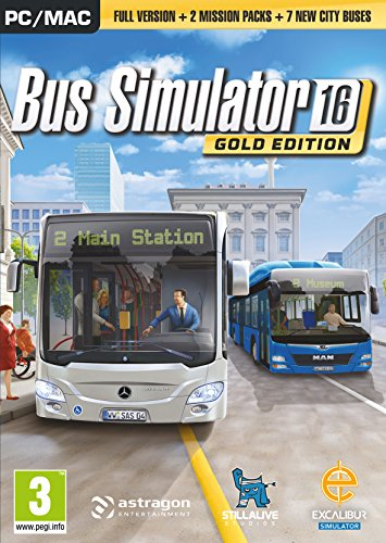 Bus Simulator 2016 Gold Edition (PC DVD) from Excalibur Games
