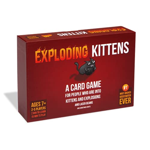 Exploding Kittens: A Card Game About Kittens and Explosions and Sometimes Goats from Exploding Kittens