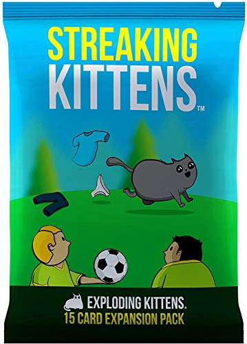 Streaking Kittens: The Second Expansion of Exploding Kittens from Exploding Kittens