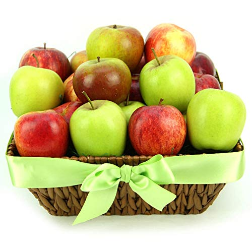 Apples Delight Fruit Basket - Fruit Gift Baskets and Gift Hampers with Next Day UK delivery with Personal Message Attached from Express4Fruits