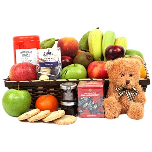 Birthday Fruit Hamper - Fruit Gift Baskets and Gift Hampers with Next Day UK delivery with Personal Message Attached from Express4Fruits