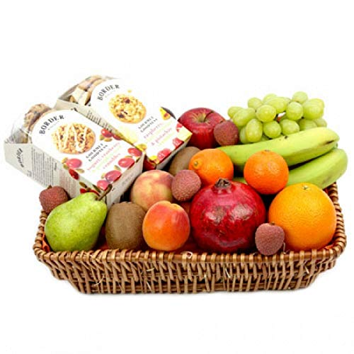 Border Fruit Hamper - Fruit Gift Baskets and Gift Hampers with Next Day UK delivery with Personal Message Attached from Express4Fruits